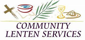 Community Lenten Services